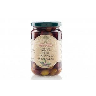 "Olive nere ""taggiasca"", in salamoia 300g"