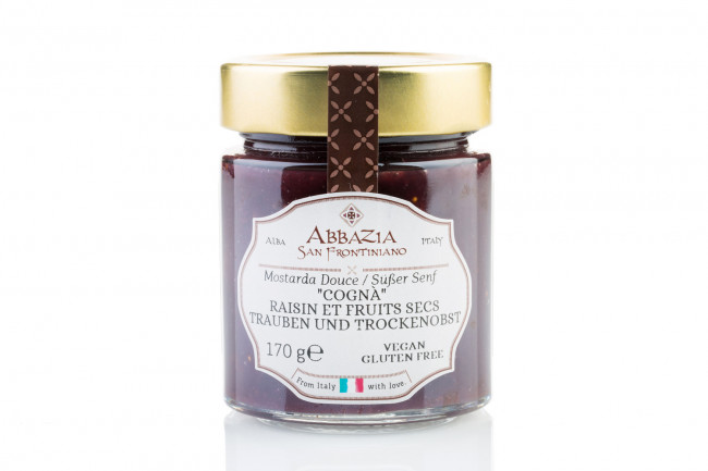 Cogna' - grapes and dried fruit sweet mustard 170 g