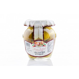 "Green olives ""la bella di cerignola"" in brine 290 g"
