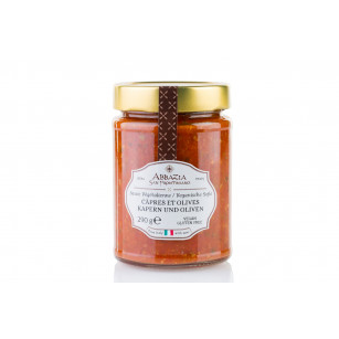 Tomato sauce with capers and olives 290 g