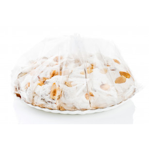 Soft torrone cake with almonds 1 kg
