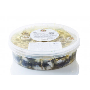 Fresh sardine with olives 1,95 kg