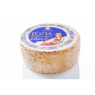 Toma cheese of gressoney with juniper 3kg